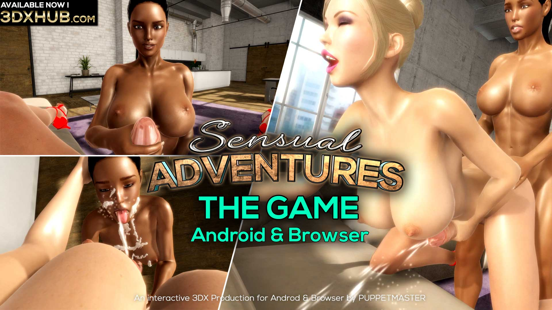Sensual Adventures - The Game (Android & Browser)
